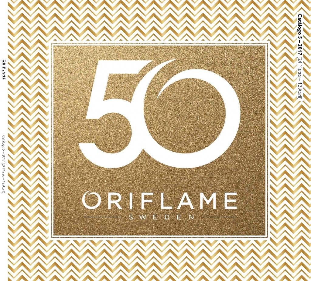 Portada 50 Aniversario Oriflame